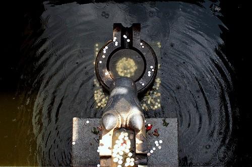 Talakaveri - Monedas en el rio