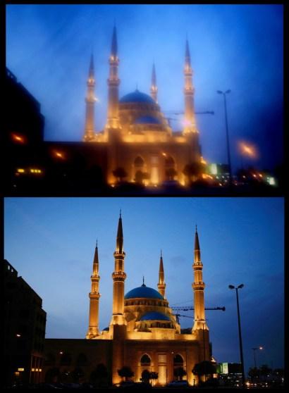 Mezquita Muhammad al Amin en Beirut,Lebanon