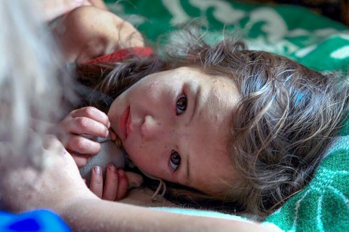 Nina que sobrevivio 11 dias en el bosque siberico