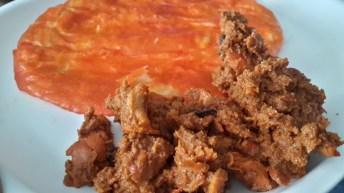 Sheermal con Chicken Tikka