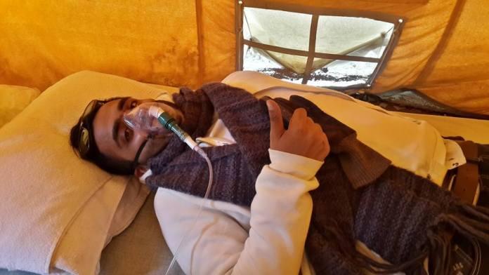 Tomando Oxigeno en el Norte de India