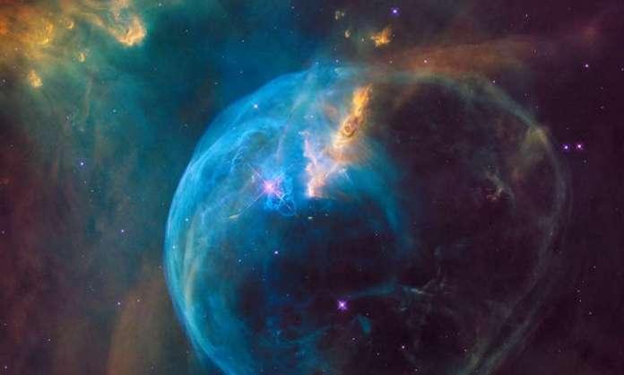 The Bubble Nebula, or NGC 7635. Credit: NASA, ESA, and the Hubble Heritage Team
