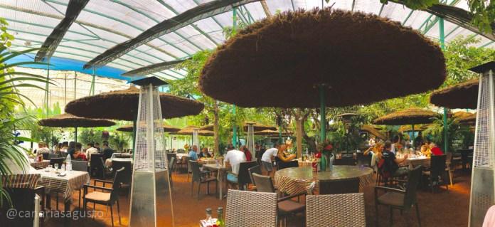 zona trasera de restaurante el cordero