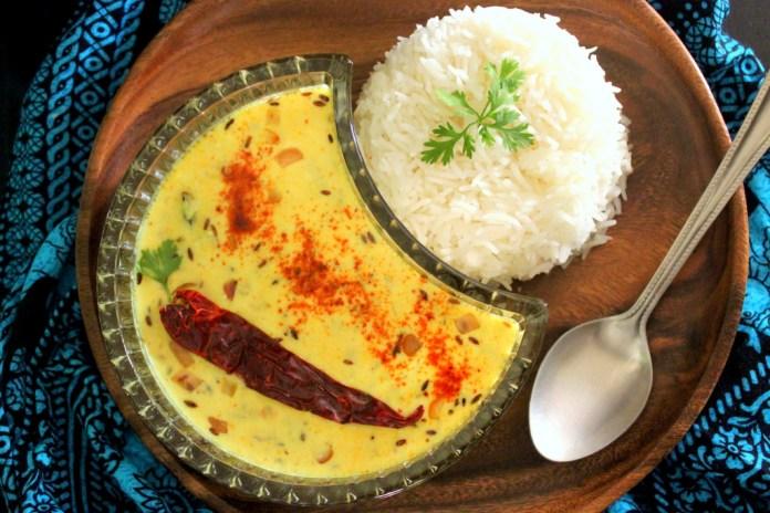 Kadhi Chawal de Yogur