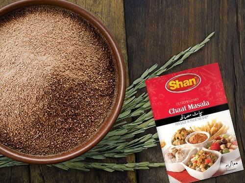 chaat masala comida india