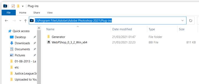 photoshop plugin folder