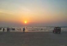 Goa Playa en India