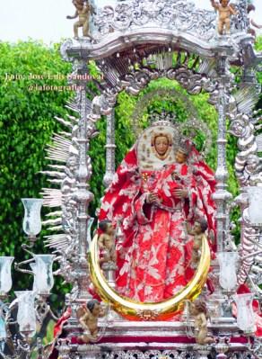 fotos llegada Virgen del Pino Las palmas 2014