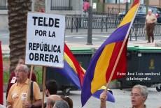 piden la III república en Las palmas de Gran Canaria / Foto: José Luis sandoval