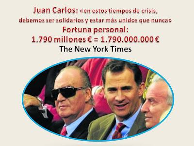 LA FORTUNA DEL REY JUAN CARLOS l      ....... (2/2)
