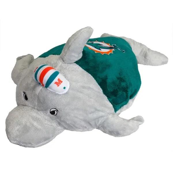 miami dolphins dolphin pillow pet wish