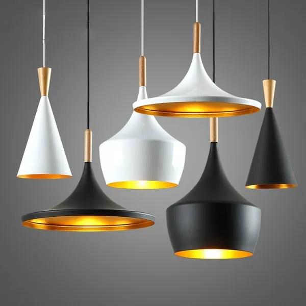Modern Pendant Light Metal Lamp E27 Socket Loft Hanging Light Fixture Industrial Lighting Simple Pendant Lighting Ceiling Lamp Chandelier Light Shade Fixture Coffee Lamp Dinning Room Lights Wish