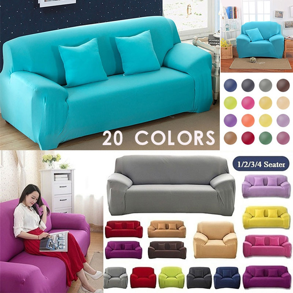 1 4 seaters sofa slipcover fashion recliner sofa covers loveseat slipcover retro recliner sofa cover soft couch slipcovers 14 colors wish