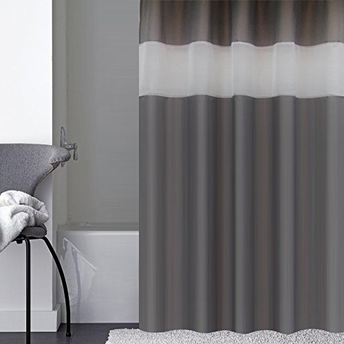 dark gray shower curtain extra long 72 inch x 78 inch fashion polyester shower curtains for bathroom wish