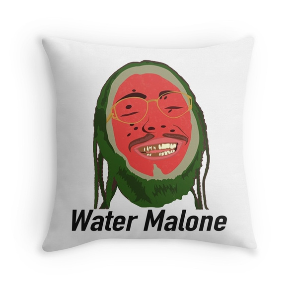 water malone post malone pillow cases wish