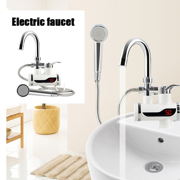 water heater tap set 220v kitchen faucet instantaneous water heater shower instant heaters tankless water heating wish