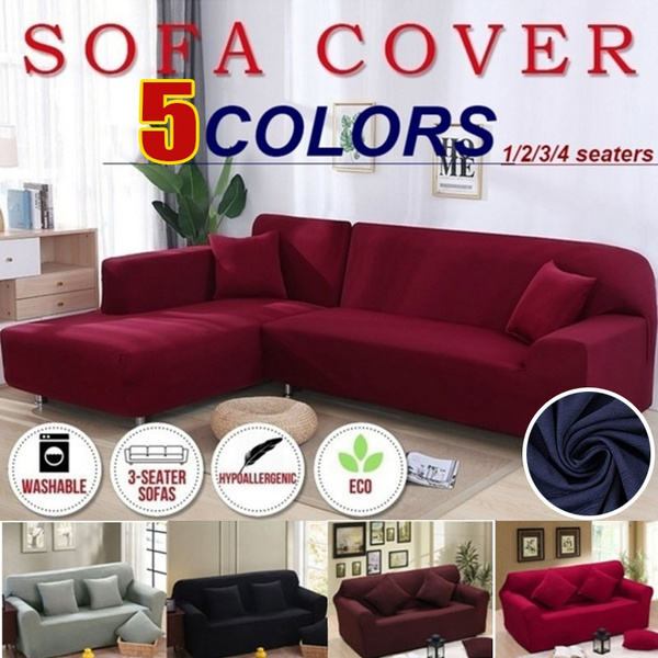 soft covers for corner sofa living room universal stretch elastic l shaped sofa cover chaise longue covers couch slipcover chair furniture protector 5