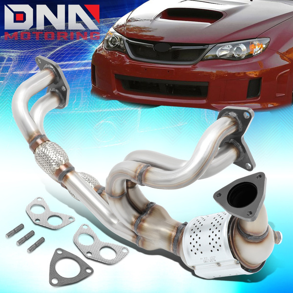 for 2006 to 2012 subaru legacy outback impreza sport forester 2 5l non turbo catalytic converter exhaust pipe replacement saab 9 2x 08 09 10 11 wish