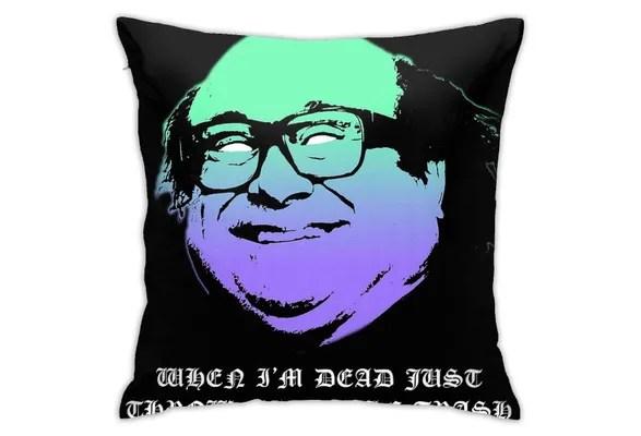 danny devito pillow case sofa waist throw cushion cover home decor