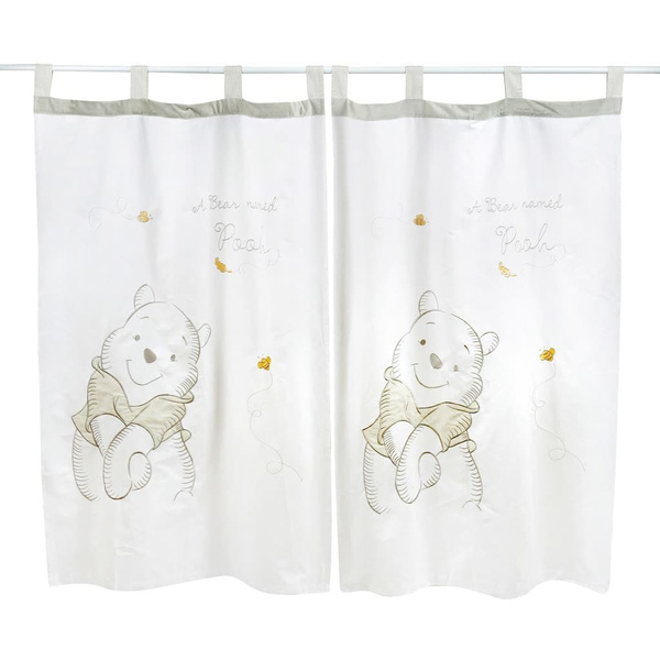 gray winnie the pooh 2 curtains wish