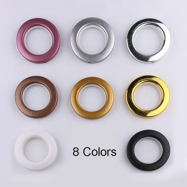 10pcs eyelets plastic curtain grommets decor for curtains 42mm durable wish