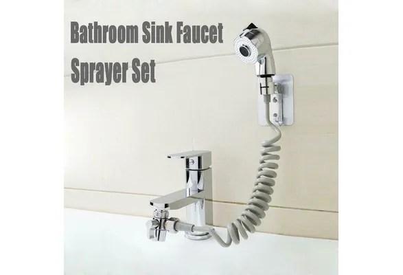 bathroom sink faucet sprayer set sink hose sprayer attachment hand shower spray faucet
