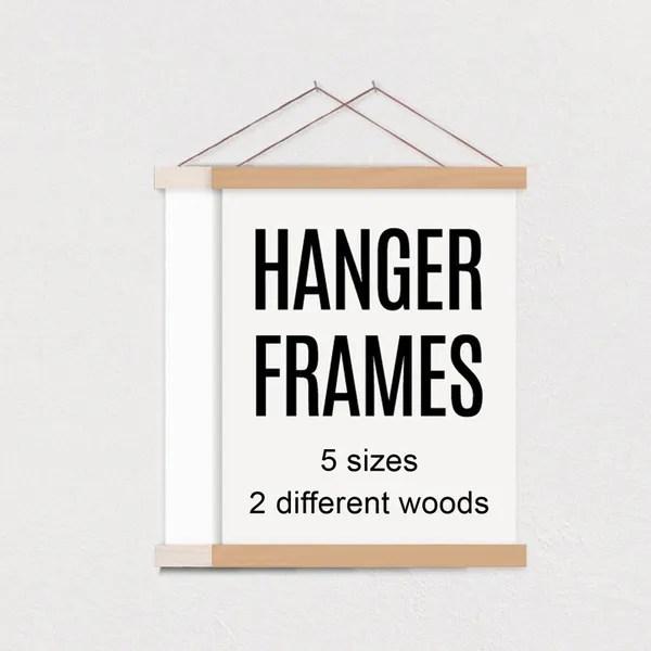 hanger frame wooden magnetic poster hanger for framing art pictures poster hanger print hanger wall hanging wooden poster hanger wish