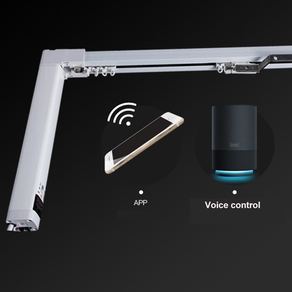 smart home automatic curtain motor with wifi control electric curtain motor for rail motorized curtain track wish