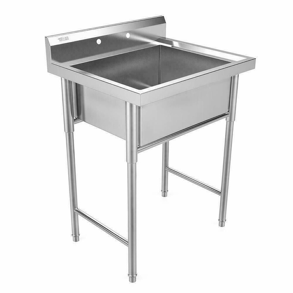 30 new commercial grade stainless steel utility sink laundry room tub slop sink wish