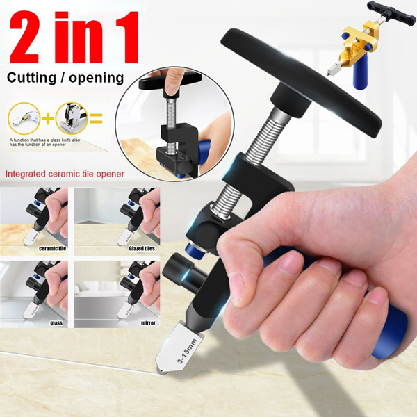 manual tile mirrors cutter multi functional glass cutter set ceramic tile opener easy glass tile cutter wish