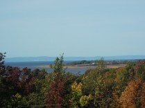 A view of the Minas Basin from Wolfville, N.S.