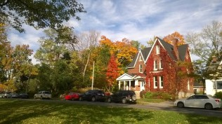 Fall Colours in Kingston Ontario, my hometown!
