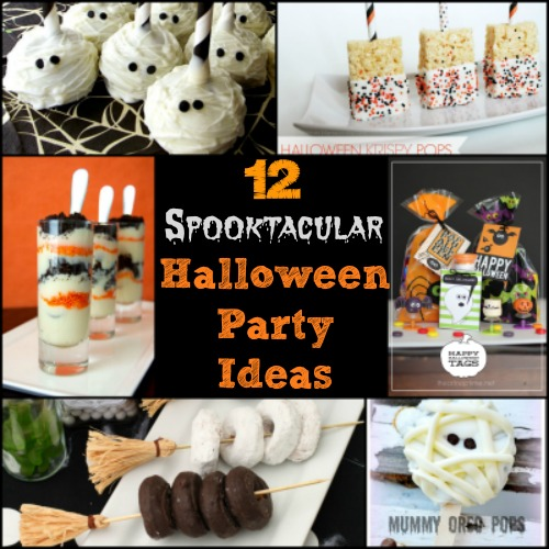 12 Spooktacular Halloween Party Ideas  -Canary Street Crafts