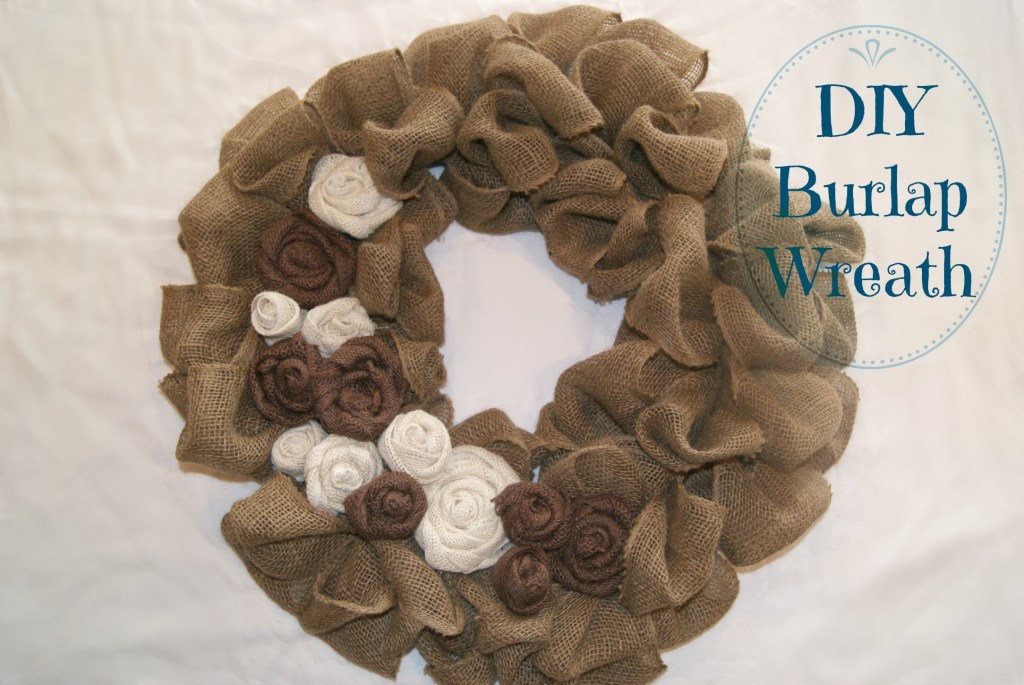 DIY burlap wreath canarystreetcrafts.com