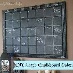 Chalkboard For Kitchen Wall Mosaic Backsplash Calendar - Canary Street Crafts