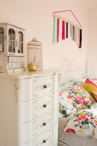 Feminine-Bedroom-Makeover from {Lily Allsorts}