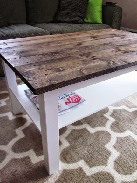Coffee Table Makeover from This Crazy Thing Called Life