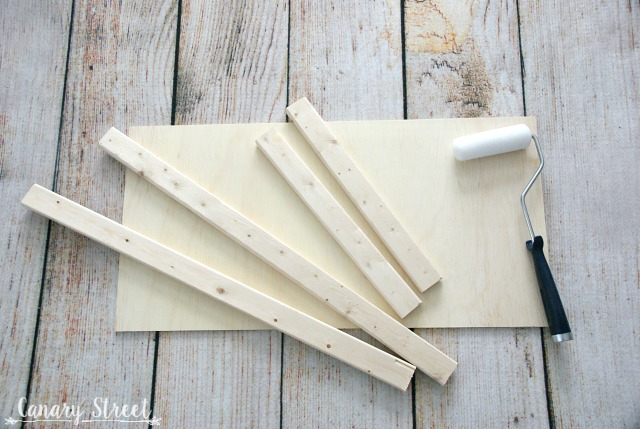 DIY Wood Framed Laundry Sign - Canary Street Crafts