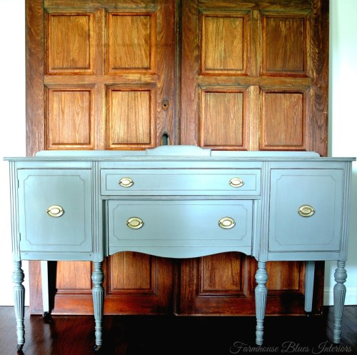 gray-buffet from Farmhouse Blues Interiors