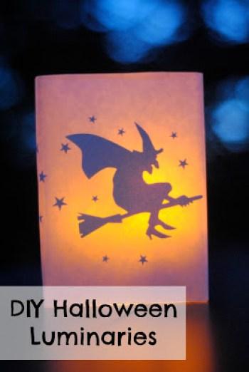 DIY Halloween Luminaries  -makinglemonadeblog.com