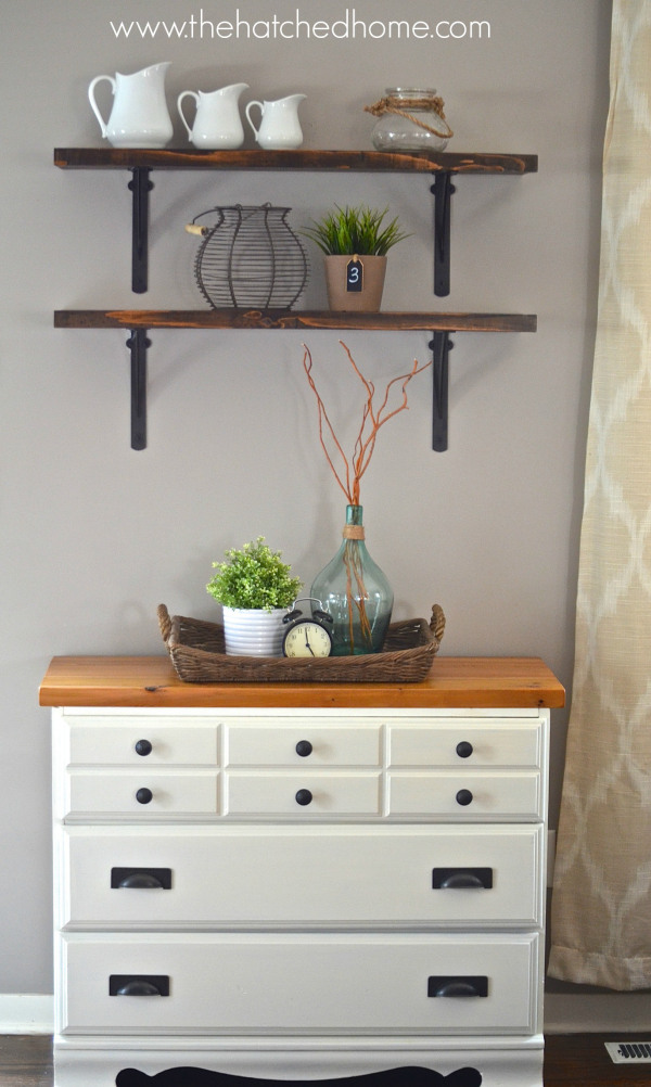 Thift Store Furniture Makeover from The Hatched Home