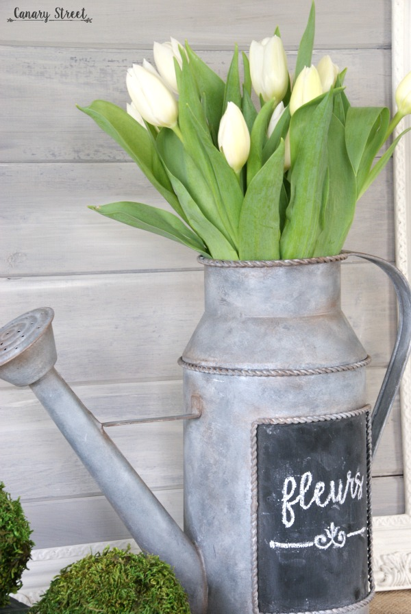 How To Create A Faux Galvanized Metal Finish Canary