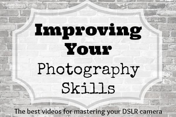 The best online classes for learning to use your DSLR camera.  Watch them as many times as you like and at your own pace, then get ready to start taking amazing photographs!