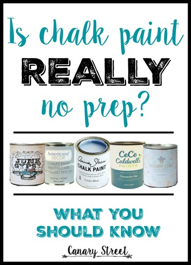 Ready to try your hand at chalk paint? Here's what you should know before you get started. https://canarystreetcrafts.com/