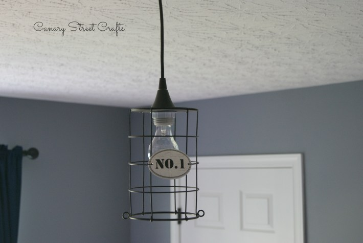 How to turn an ordinary object into a pendant light -canarystreetcrafts