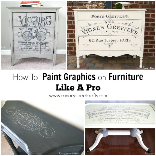 paint-graphics-on-furniture-collage