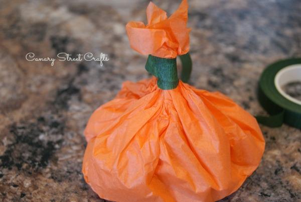 Easy DIY Pumpkin Pouch Goodie Bags!