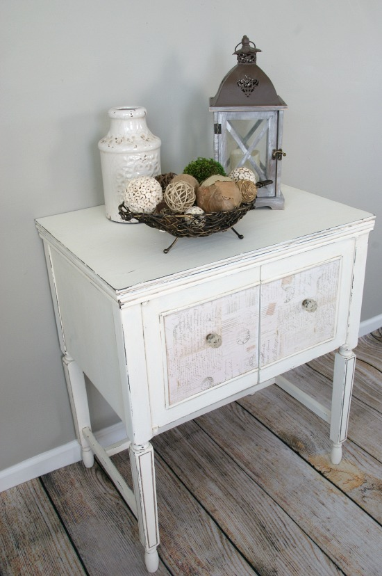 sewing cabinet makeover canary street 4