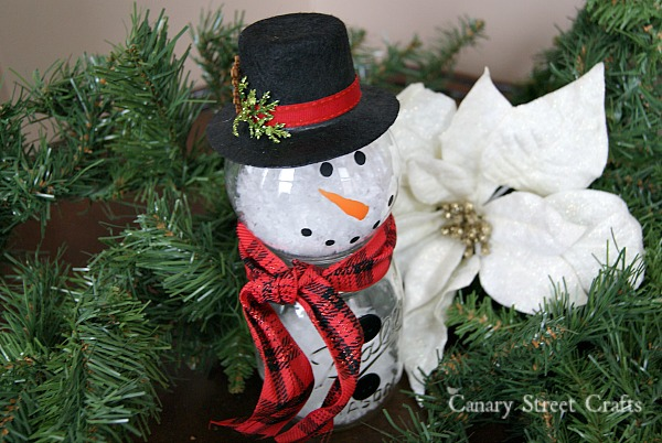 snowman crafts challenge jar snowman monthly diy challenge canary 2962