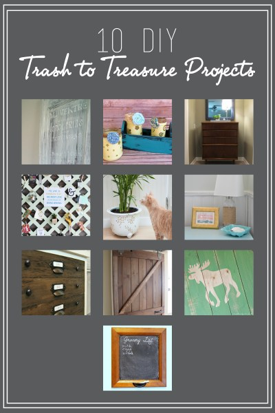 Trash to Treasure Monthly DIY Challenge